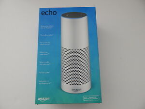 Amazon Echo (1st Generation) Smart Assistant - White Brand New