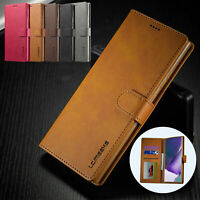Flip Leather Stand Wallet Card Phone Case Cover For Samsung Galaxy Note 20 Ultra