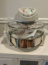 Brand New Magic Chef eWave Ewgc12W3 1300-Watt Glass Bowl Convection Oven