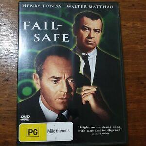 Fail Safe (DVD, 2016) Henry Fonda R4 Like New! – FREE POST