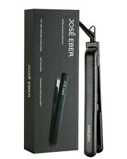 Jose Eber Black Straightener with Ceramic Plates,1.25 Inch   Dual Voltage
