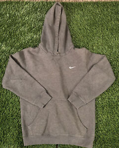 Nike Pullover Embroidered Swoosh Sweatshirt Hoodie Size Youth Large