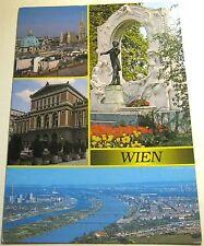 Austria Wien Vienna Blick zum Stephansdom R361 - Posted 1994