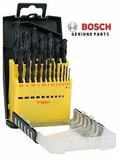 - first class - Bosch HSS-R METAL DRILL SET 19 Piece 2607017151 3165140647700 #