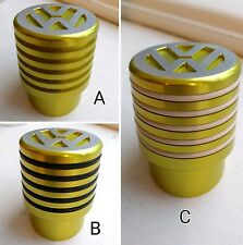 VW T5 T6 Gear Shift Knob Ribbed Lime Green