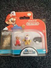 World Of Nintendo New Super Mario Bros U Micro land Figures Series 1-1 Bowser Jr
