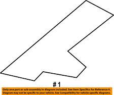 CHRYSLER OEM 11-14 200-Roof Molding Trim Left 1CE67TZZAD