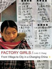 BOOK/AUDIOBOOK CD Leslie Chang China Business Workers FACTORY GIRLS