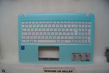 Blue ASUS X540s Palmrest Top Base Upper Cover UK Keyboard White