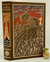 Franklin Library GRAPES OF WRATH Collectors LIMITED Edition ORNATE Pulitzer RARE