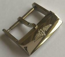 BREITLING LEATHER BAND BUCKLE 20MM STAINLESS STEEL WATCH BUCKLE