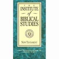The Institute Of Biblical Studies: Testament 3 Vol I II III On VHS Brand New