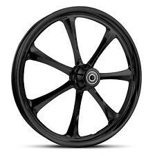 "DNA ""CRYSTAL"" GLOSS BLACK BILLET WHEEL 16"" X 5.5"" REAR HARLEY 2009+ TOURING"