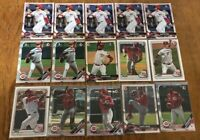 (x43 Lot) Jonathan India - Hunter Greene - Lodolo (1st Bowman) Cincinnati Reds