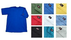 Dickies Men's Basic T-Shirt Pocket Tee  Short Sleeve Light Weight Jersey Cotton