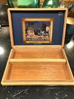 Michel Delacroix Le Cigare de L'an Montecristo Wooden Empty Cigar Box