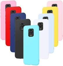 COVER Custodia Morbida SOFT GEL Silicone SLIM per Xiaomi Redmi Note 9 PRO e MAX