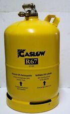 Gasflasche Tankflasche wieder befüllbar LPG GPL Gaslow Multiventil  11 kg.