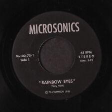 TERRY HART: Rainbow Eyes / Lonely 45 Hear! (unknown Folk) Folk
