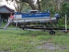 used pontoon boat for sale