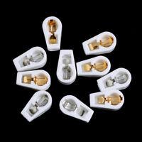 "10X 1/4"" generic ceramic vacuum tube anode grip plate cap fr el504 fu-519 ef NSH"