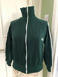 Vintage Atlas green tracksuit top (Size Small) 70s/80s