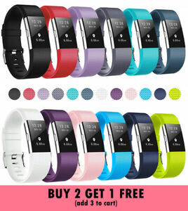Replacement Bands for Fitbit Charge 2 Silicone Strap Wristband Fitness Tracker