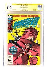 Frank Miller CGC 9.4 SS Daredevil #181 Bullseye Elektra Kingpin Punisher NETFLIX