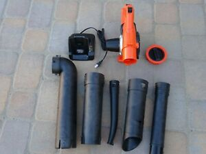 BLACK+DECKER Cordless Handheld Leaf Sweeper/Vacuum LSWV36