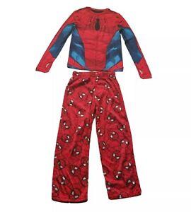 Marvels Spider-Man 2-Piece Long Sleeve Long Pant Pajama Set size M 6/7