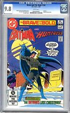 Brave and the Bold  #184 CGC  9.8  NMMT  White pgs  3/82 Huntress, Nemesis back