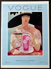 VOGUE MAGAZINE COVER POSTER AUGUST 1 1926 INTERIOR DECORATIONS ART DECO PRINT!