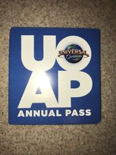 Universal Studios Orlando ANNUAL PASS MAGNET (NEW)