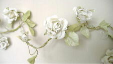 Rose Garland Crema Flor Boda Shabby Chic 5 ft (approx. 1.52 m)