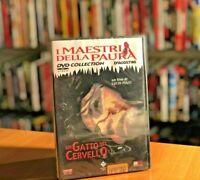 Un gatto nel cervello 1990 DVD I MAESTRI DELLA PAURA Lucio Fulci NUOVO SIGILLATO
