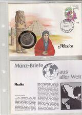 Numisbriefe aus aller Welt - Mexiko - und Infokarte