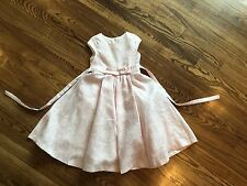 Isobella And Chloe 6x Light Pink Fancy Shimmery Dress Nordstrom $129