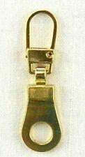 307G Fashion Zipper ,Zupfer,Ersatz-Zipper für Reißverschlüsse Öse gold