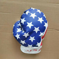 1X USA Boxing Glove Headcover Golf Driver Wood Club Head Cover Fits Up To 460CC