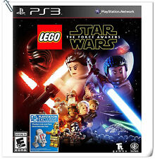 PS3 LEGO Star Wars The Force Awakens SONY Action Adventure Warner Home Video