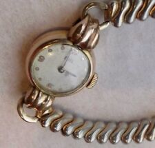 Vintage Ebel Swiss manual wind Watch Gold Plated