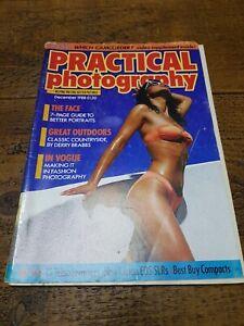 Vintage Practical Photography Magazine December 1988