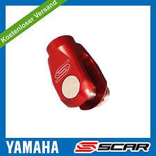 Einsteller Hinterradbremse YAMAHA YZ 125 YZF 250 450 WRF YZ250F YZ450F ROT SCAR