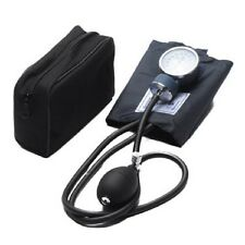 BRAND NEW LARGE ADULT BLOOD PRESSURE ANEROID BP CUFF SPHYGMOMANOMETER SET + CASE