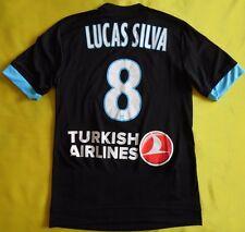 4.5/5 Olympique Marseille AWAY football shirt 2016 #8 LUCAS SILVA ORIGINAL ADIDA
