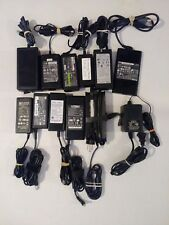 12 LAPTOP, PRINTER, & LCD TV AC POWER SUPPLIES TESTED & WORKING $5 EA FREE SHIP