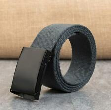 Men's Military Outdoor Sport Military Tactical Nylon Waistband Canvas Web Belt ~