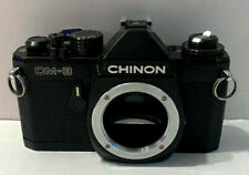 Chinon CM-3 35mm Film Camera Body ONLY (BLACK)