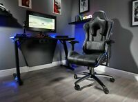 Used X-Rocker Amarok Officially Licensed PlayStation Gaming Chair - Black-GO90.