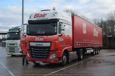 Truck Photos Irish Blair International DAF 106XF & Fridge HRZ 9437
